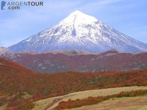 volcan lanin patagonia
